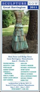 SculptureNow Exhibition Card 2011