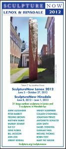 SculptureNow Exhibition Card 2012