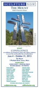 SculptureNow Exhibition Card 2013
