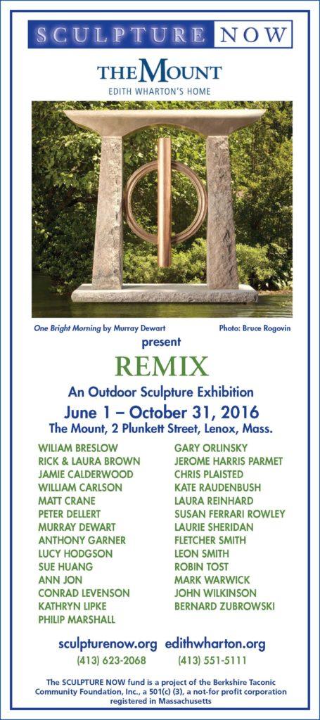 SculptureNow Exhibition Card 2016